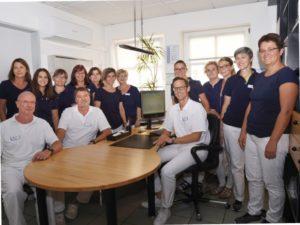 Das komplette Praxis- und Klinikteam